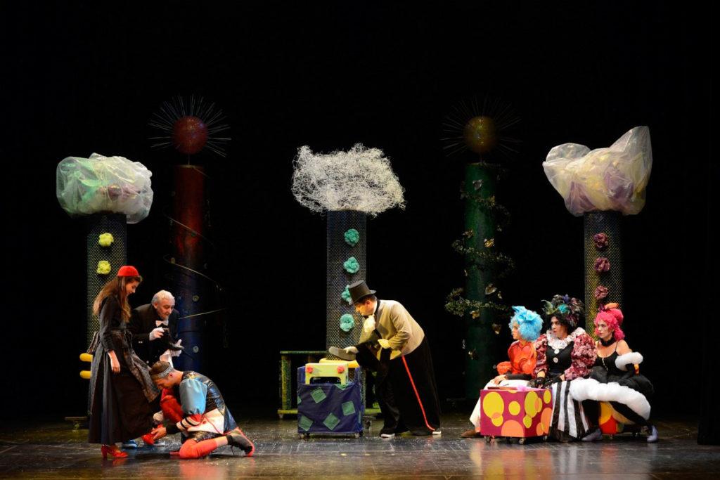 PEPELJUGA kazalište trešnja mamateka